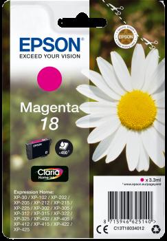 Epson 18 Tinte magenta 3,3 ml (C13T18034012)