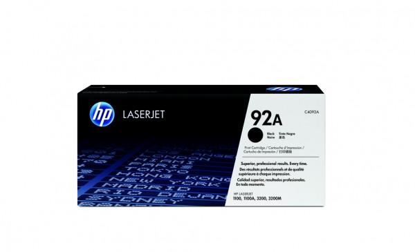 HP 92A Toner schwarz 2.500 Seiten