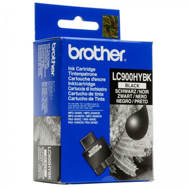 Brother LC-900HYBK Tinte schwarz 900 Seiten