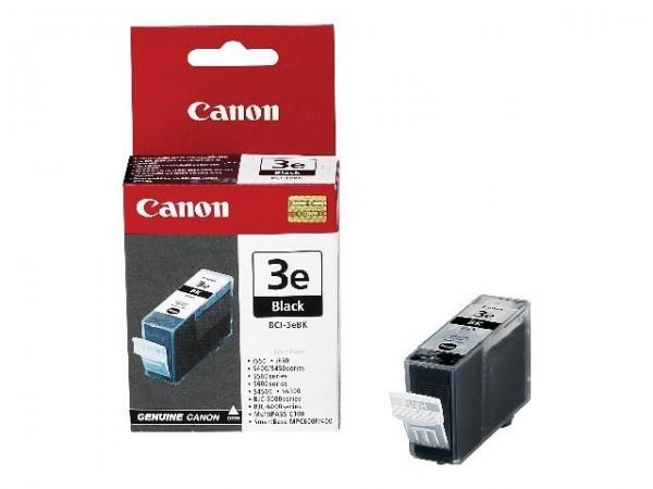 Canon BCI-3eBK Tinte schwarz 500 Seiten