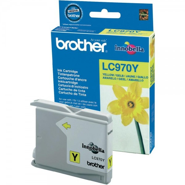 Brother LC970Y Tinte gelb 300 Seiten