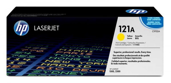 HP 121A Toner gelb 4000 Seiten
