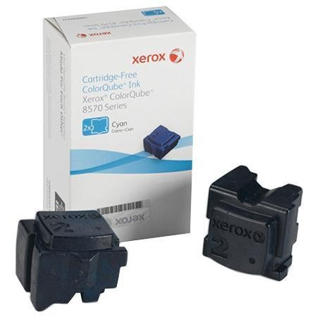 Xerox 108R00931 2x Fest-Tinte cyan 4.400 Seiten