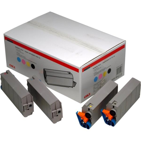 OKI 01101001 Toner Rainbow-Kit 10.000 Seiten